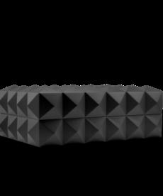 Colibri Colibri Quasar Desktop Humidor - Black