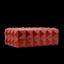 Colibri Quasar Desktop Humidor - Red