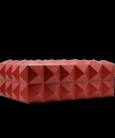 Colibri Colibri Quasar Desktop Humidor - Red