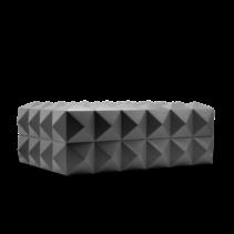 Colibri Quasar Desktop Humidor - Gunmetal