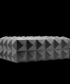 Colibri Colibri Quasar Desktop Humidor - Gunmetal