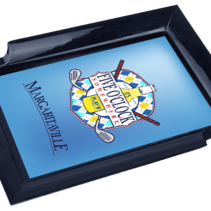 Margaritaville Chum Bucket 2-Stick Black Melamine Ashtray Golf Clubs