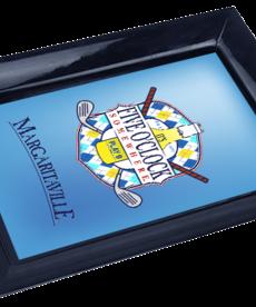 Margaritaville Margaritaville Chum Bucket 2-Stick Black Melamine Ashtray Golf Clubs
