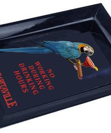 Margaritaville Margaritaville Chum Bucket 2-Stick Black Melamine Ashtray Cigar Parrot