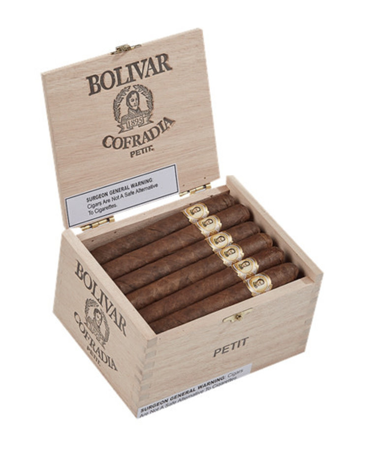 Bolivar Bolivar Cofradia Petit Corona 4.5x36 Box of 24