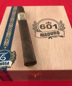 601 601 by Espinosa Blue Label Maduro Toro Box of 20