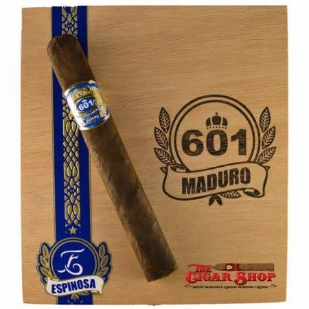 601 601 by Espinosa Blue Label Maduro Short Churchill Box of 20