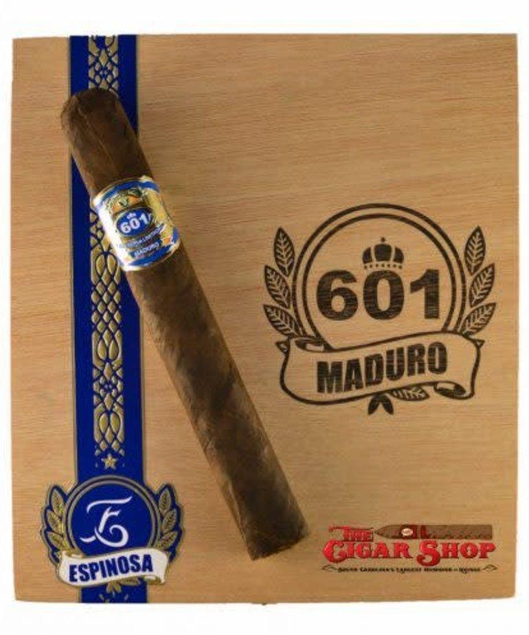 601 601 by Espinosa Blue Label Maduro Short Churchill Box of 20