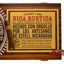 Nica Rustica by Drew Estate Short Robusto 4.5x50 Box of 25