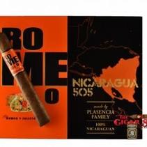 Romeo 505 Nicaragua by Romeo y Julieta Toro Box of 20