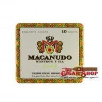 Macanudo Cafe Ascots Tin of 10 Sleeve of 10 Tins