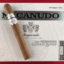 Macanudo Inspirado White Toro 6.5x50 Box of 20