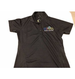 Women's Polo ST474L with Embroidery - Front & Back