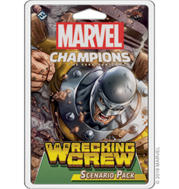 FFG Marvel Champions LCG: The Wrecking Crew Scenario Pack