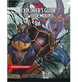 WOTC Dungeons and Dragons RPG: Explorer's Guide to Wildemount