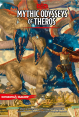 WOTC Dungeons and Dragons RPG: Mythic Odysseys of Theros Hard Cover