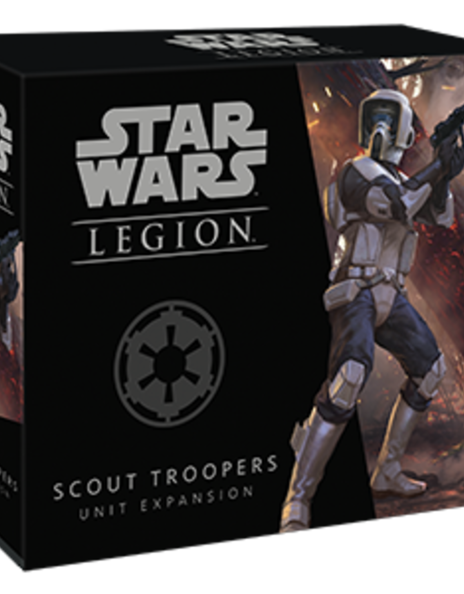 FFG Star Wars Legion: Imperial Scout Trooper Unit Expansion