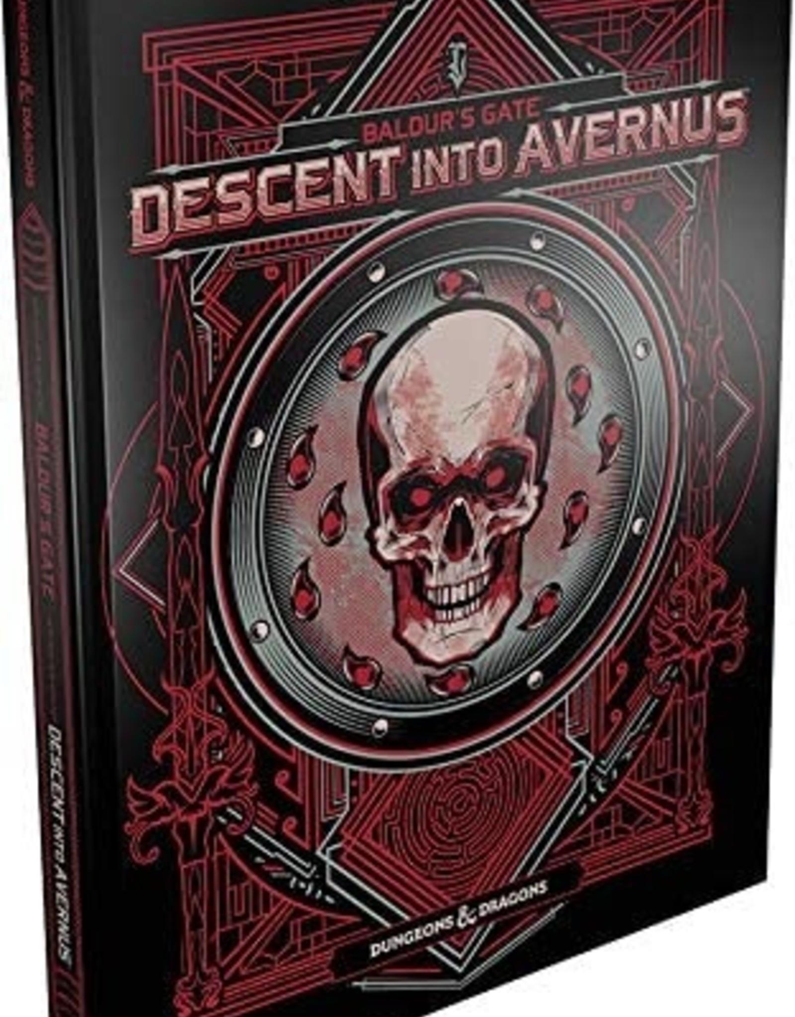 WOTC D&D RPG: Baldur's Gate Descent Into Avernus (Alternate Cover)