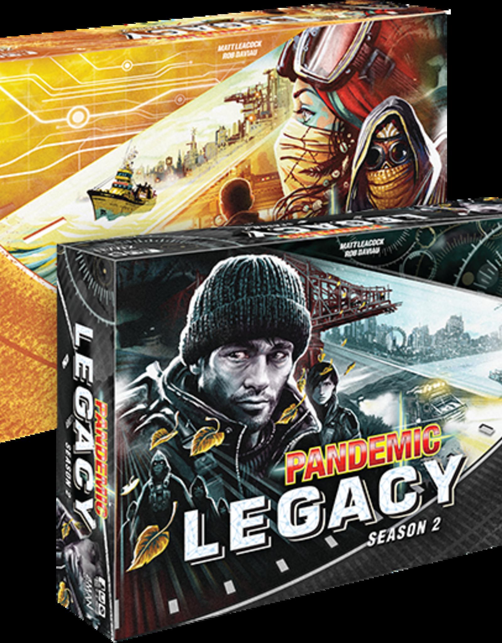 AsmodeeNA Pandemic: Legacy Season 2 - Black