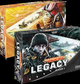 Asmodee Pandemic: Legacy Season 2 - Black