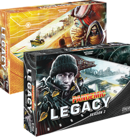 AsmodeeNA Pandemic: Legacy Season 2 - Black