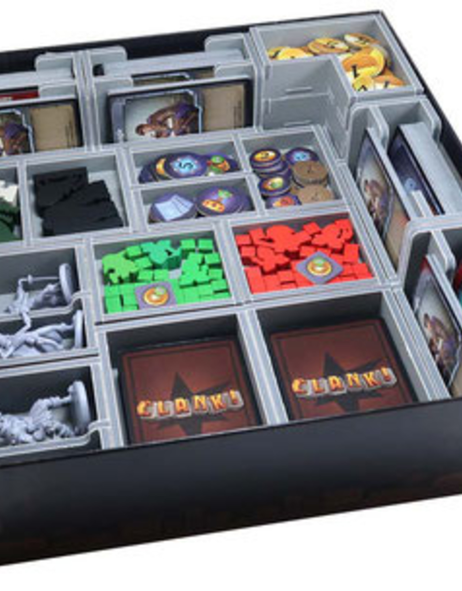 Folded Space Box Insert: Clank! & Exps