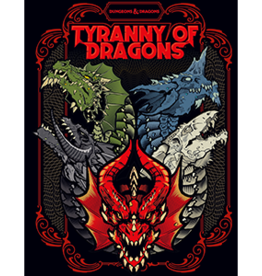 WOTC Dungeons & Dragons: Tyranny of Dragons (Alternate Cover)