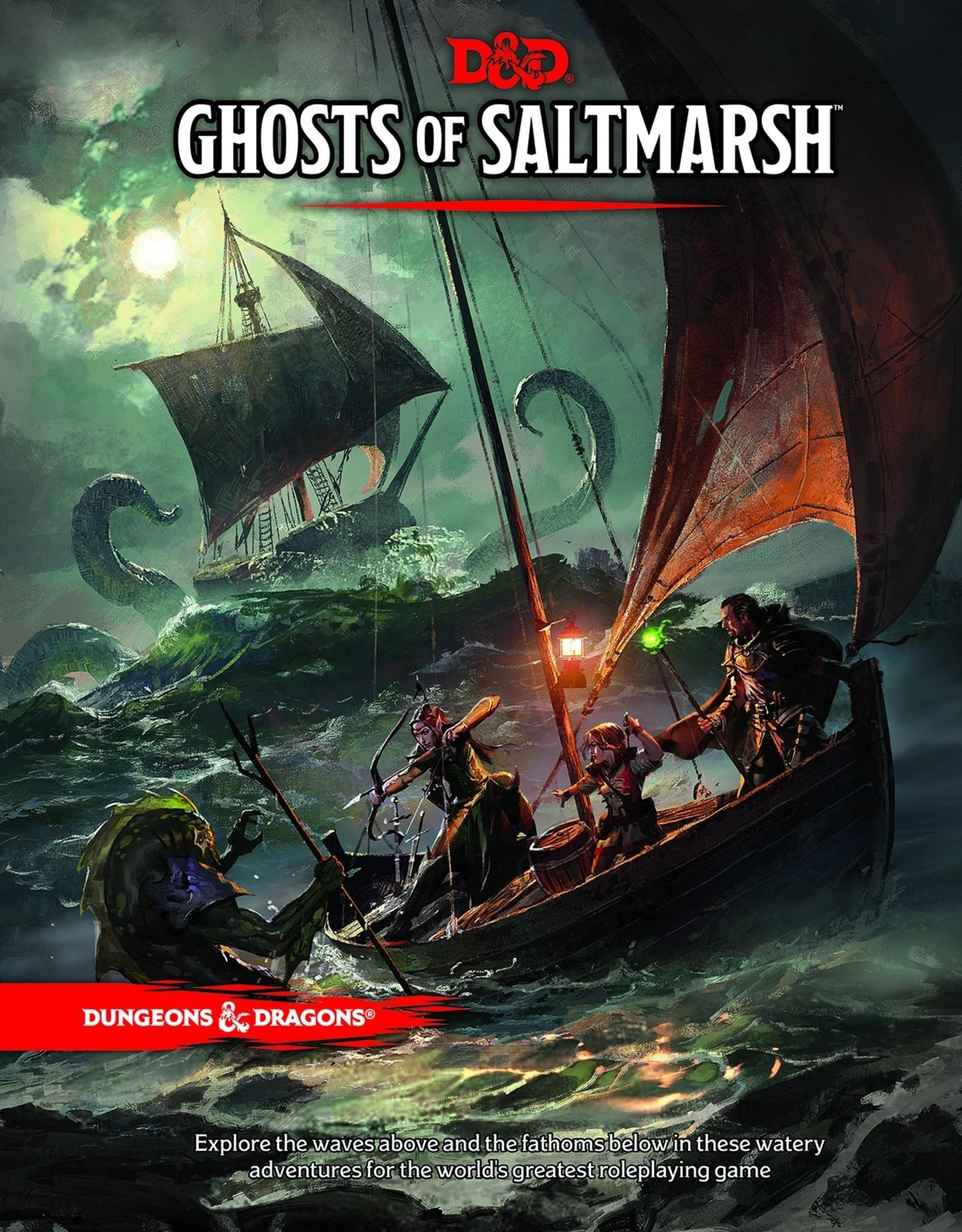 WOTC Dungeons & Dragons 5th ed: GHOSTS OF SALTMARSH ADVENTURE MODULE