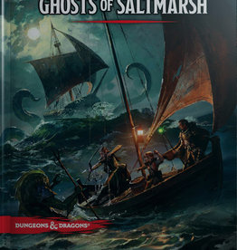 WOTC Dungeons & Dragons 5th ed: GHOSTS OF SALTMARSH ADVENTURE MODULE