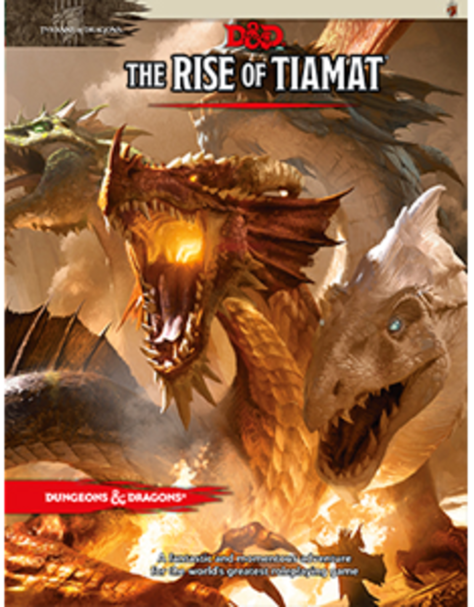 WOTC D&D  RPG: Tyranny of Dragons - The Rise of Tiamat