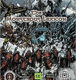 The Pickled Dragon D&D Supliment: Monstrous Lexicon (Soft Cover)