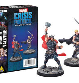 Atomic Mass Marvel Crisis Protocol Thor & Valkyrie Character Pack