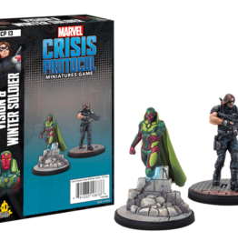 Atomic Mass Marvel Crisis Protocol Vision & Winter Soldier Character Pack