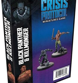 Atomic Mass Marvel: Crisis Protocol - Black Panther and Killmonger Character Pack