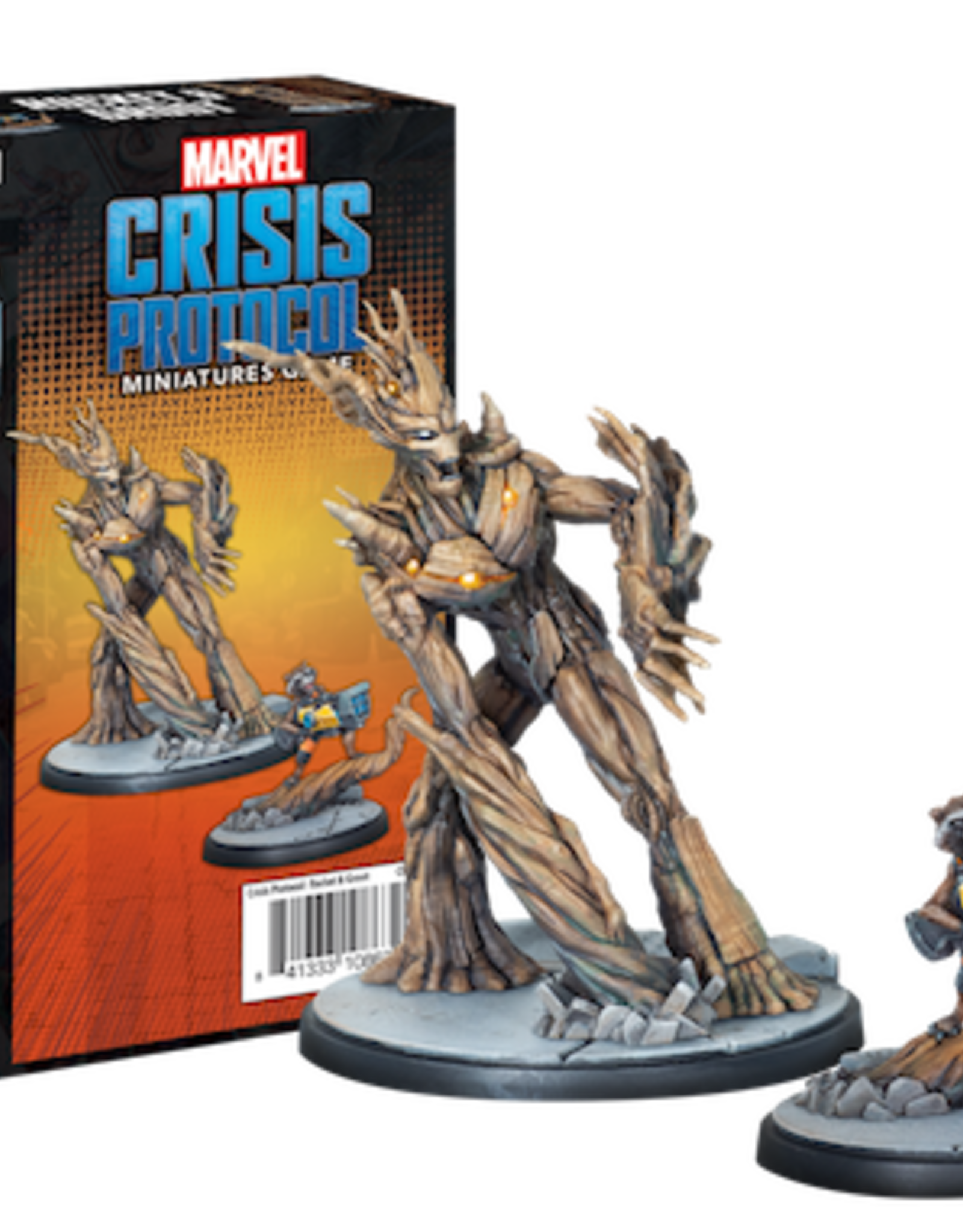 Atomic Mass Marvel Crisis Protocol: Rocket and Groot Character Pack