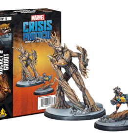 Atomic Mass Marvel Crisis: Rocket and Groot Character Pack