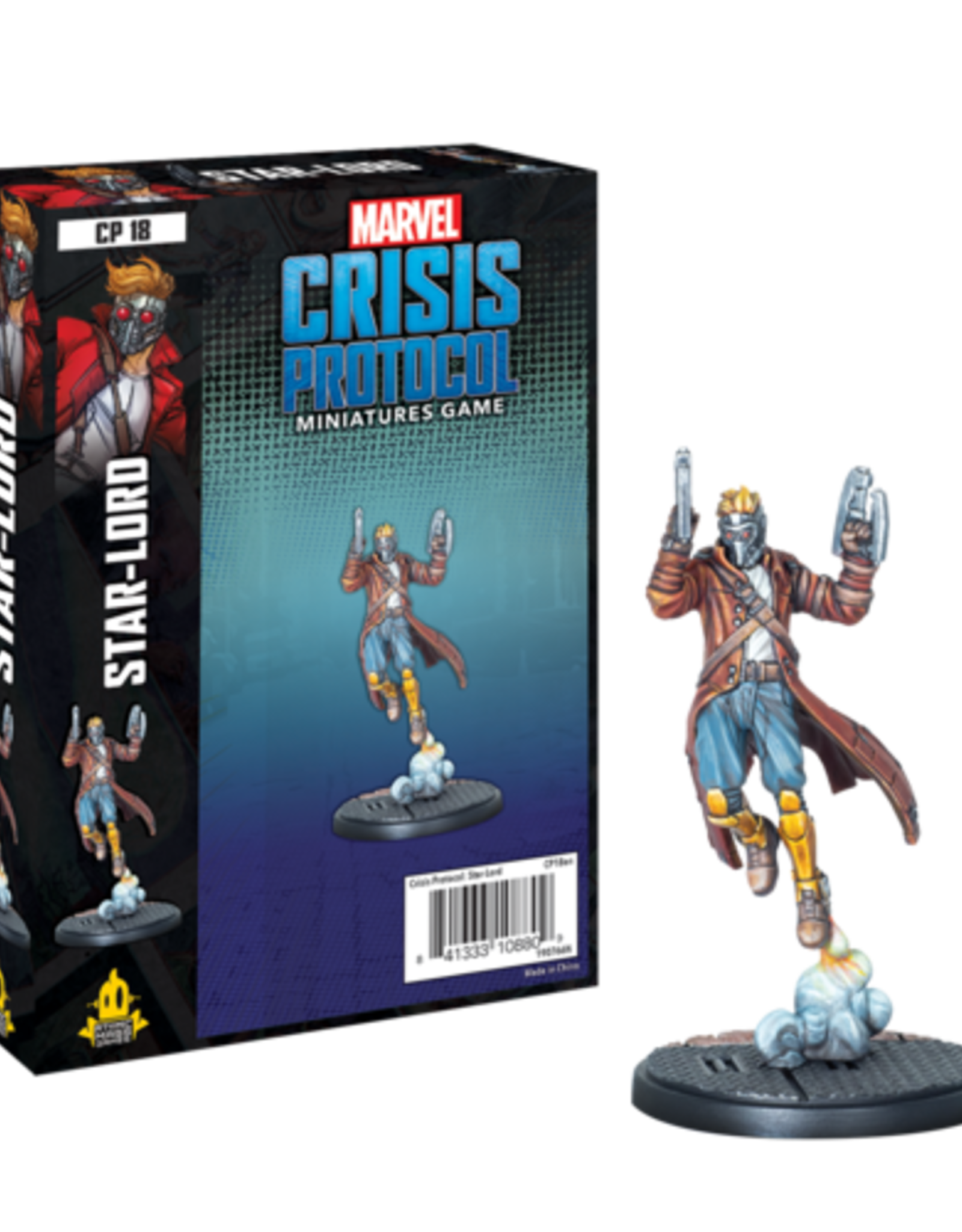 Atomic Mass Marvel Crisis: Star-Lord Character Pack