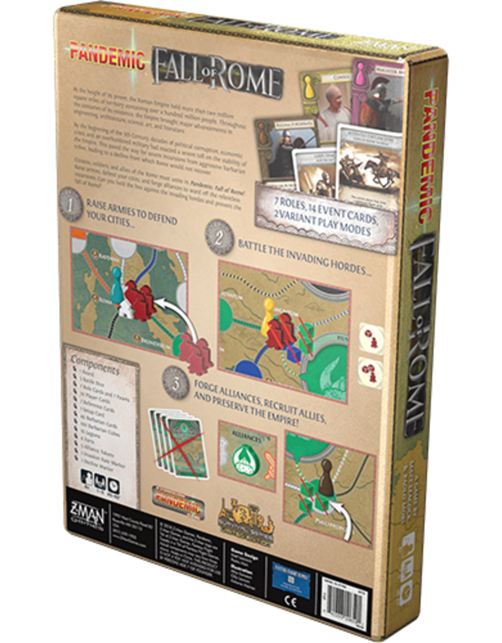 Z-Man Games Pandemic: Fall of Rome