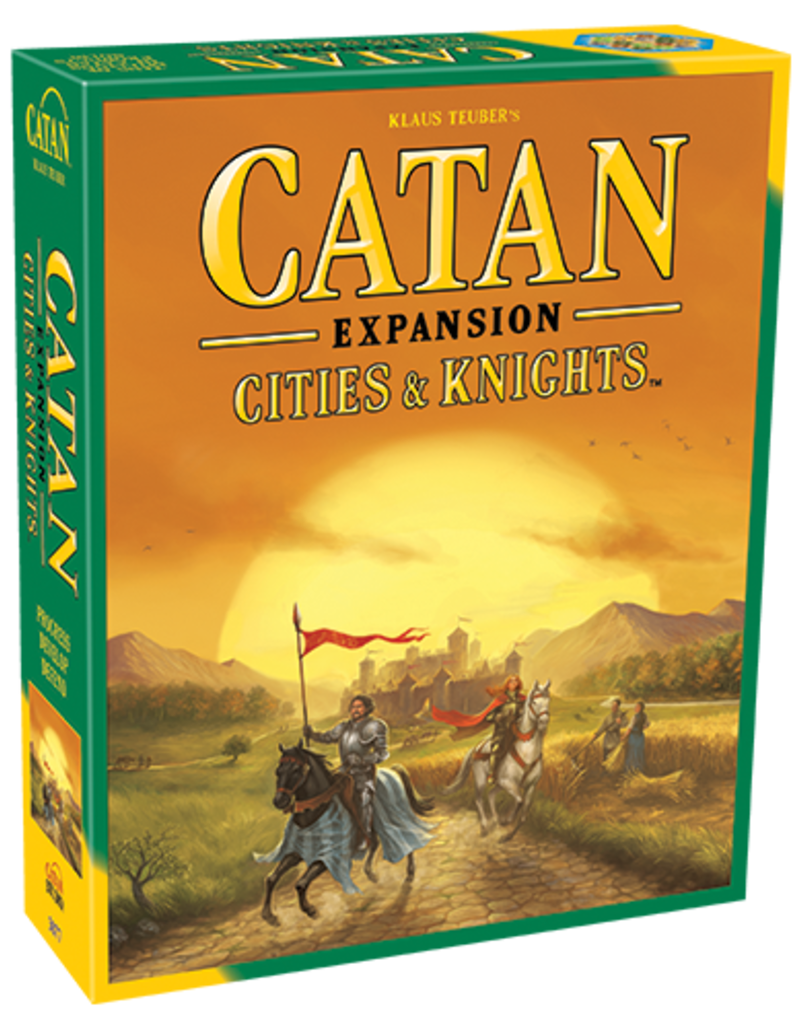 Catan Studios Catan: Cities and Knights Game Expansion