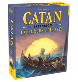 Catan Studios Catan: Explorers and Pirates Expansion