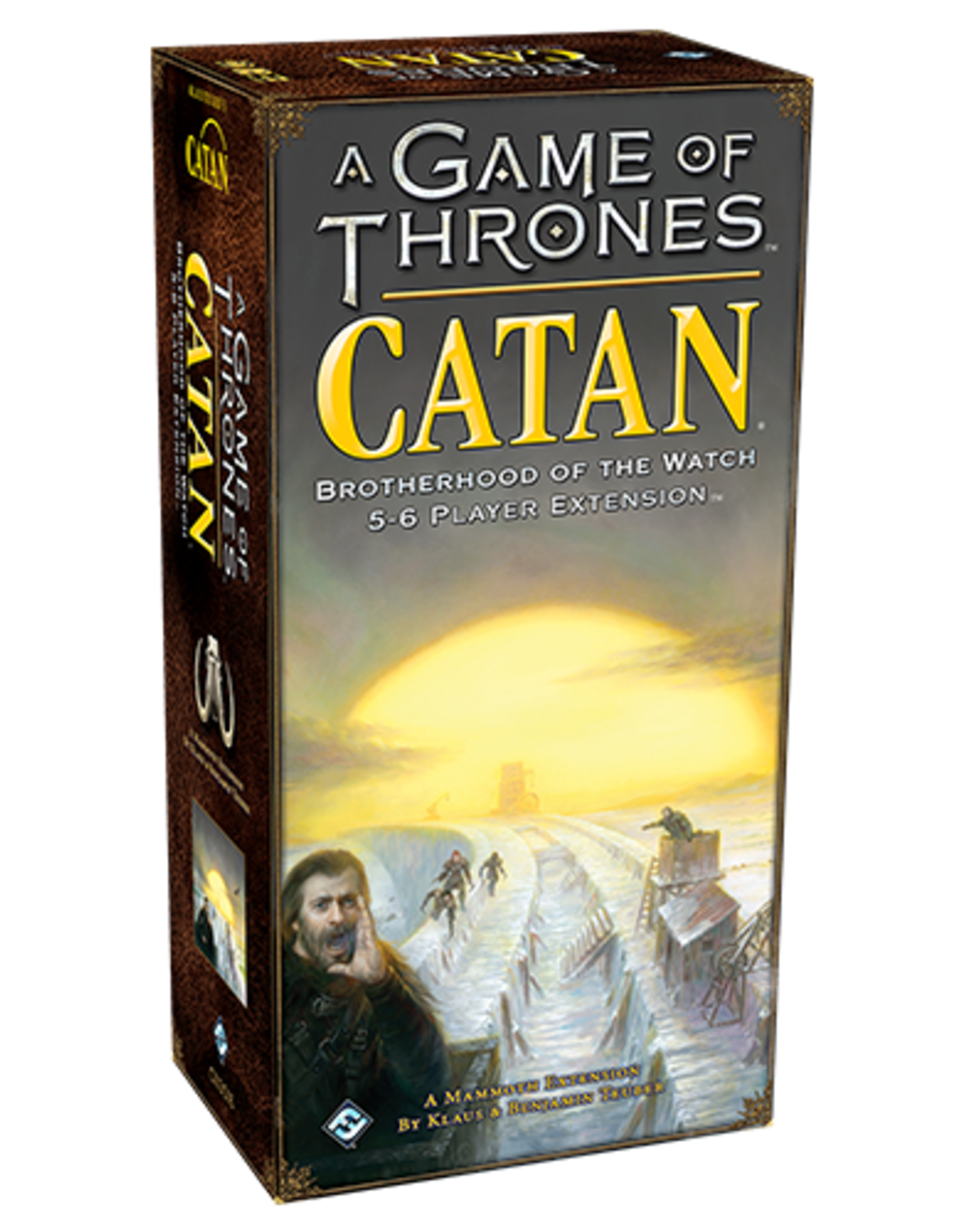 Catan Studios Game of Thrones Catan: Brotherhood of the Watch 5-6 Player Extension