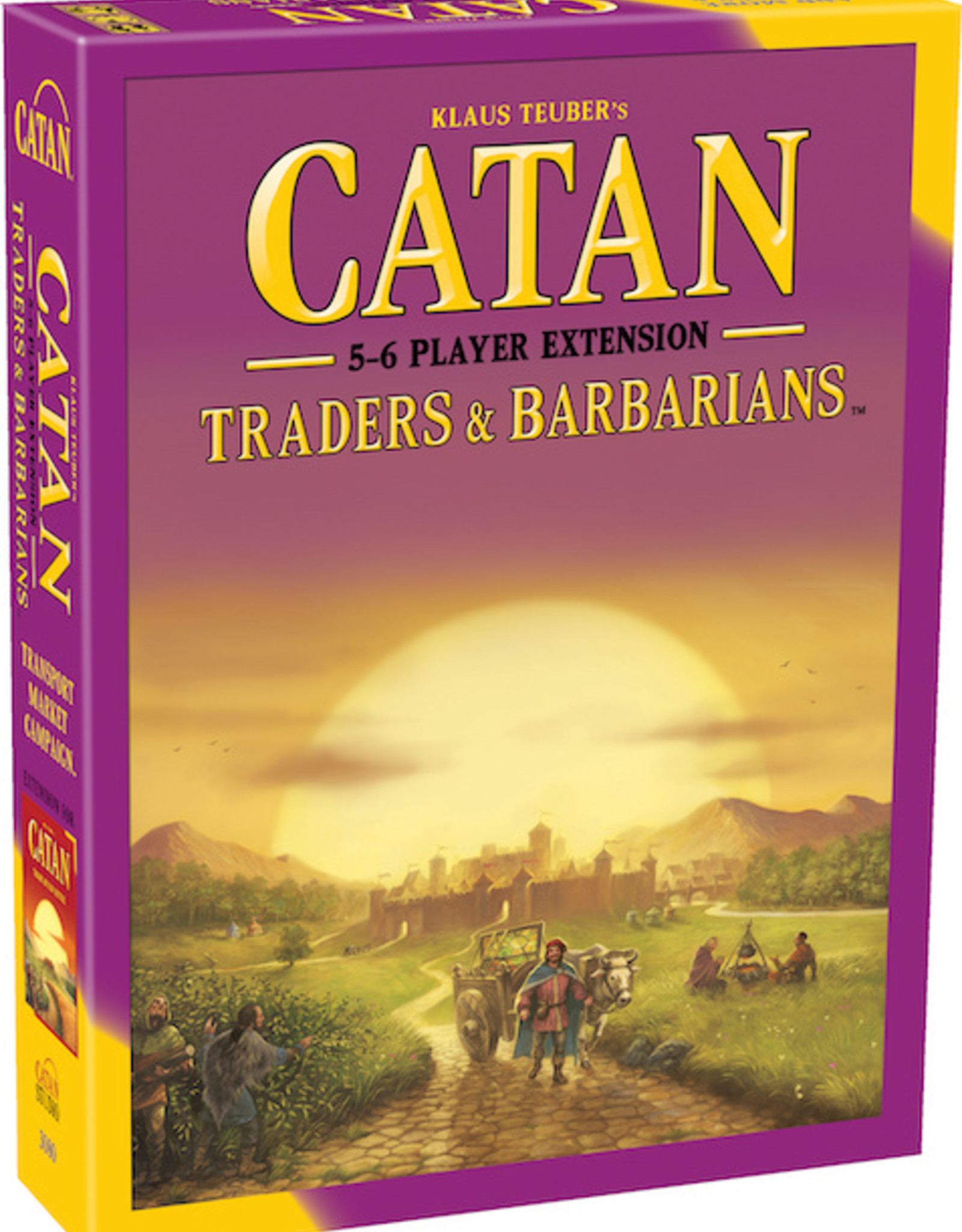 Catan Studios Catan: Traders and Barbarians 5-6 Player Extension