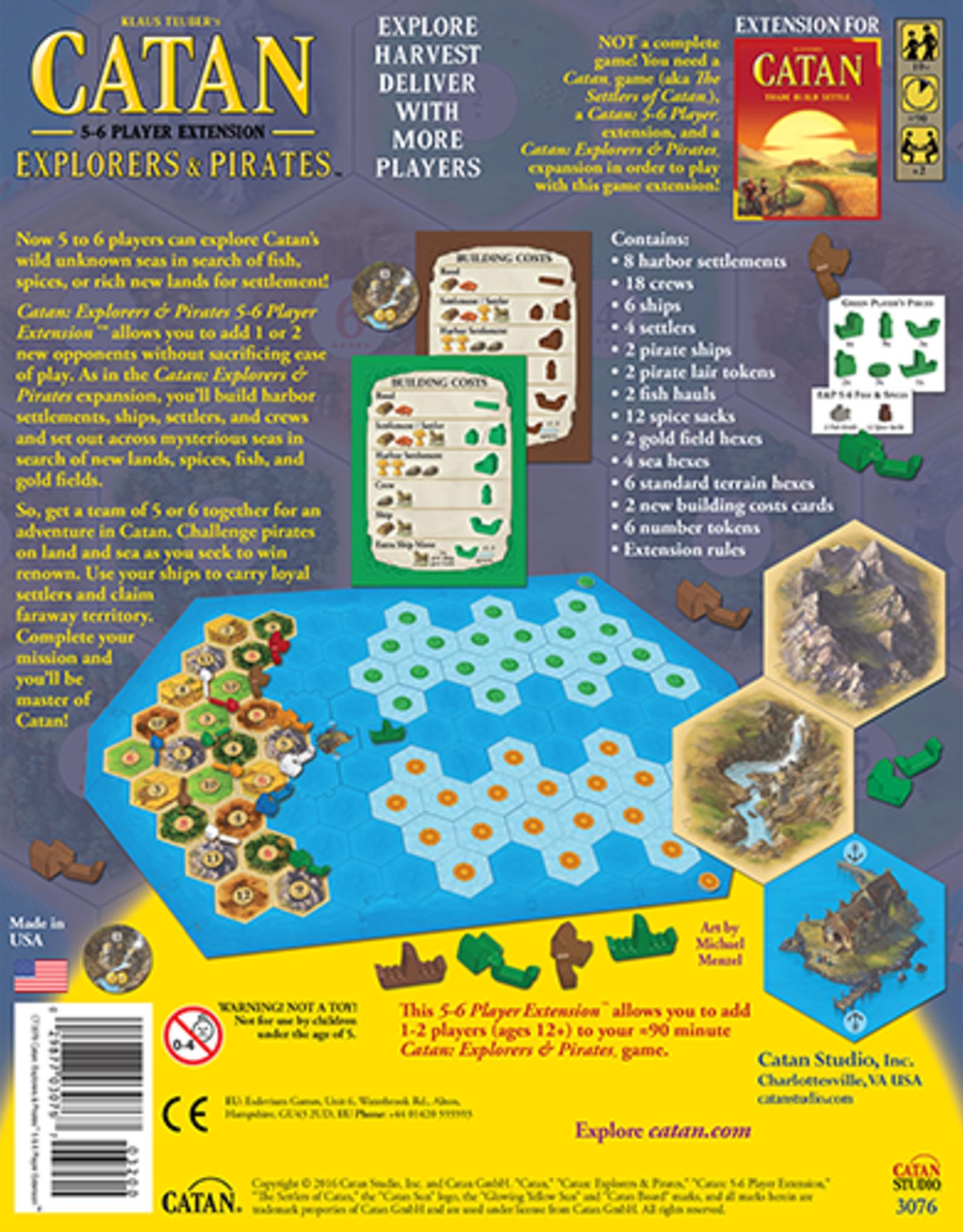 Catan Studios Catan: Explorers & Pirates 5-6 Extension