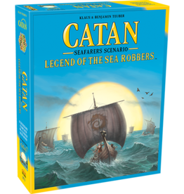 Catan Studios Settlers of Catan: Legends of the Sea Robbers Expansion