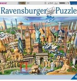 Ravensburger Puzzle 1000pc: World Landmarks