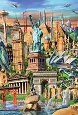 Ravensburger Puzzle 1000pc: World Landmarks