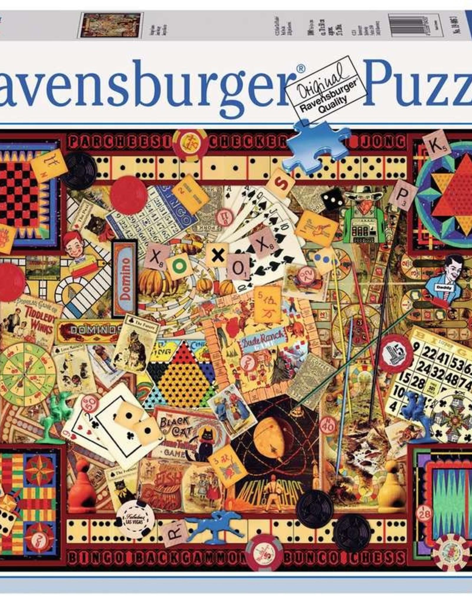 Ravensburger Puzzle 1000 pc: Vintage Games