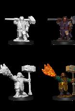Wizkids D&D NM Primed Mini: Male Dwarf Cleric