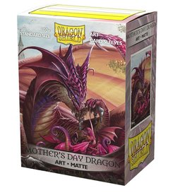 Dragon Shields Art Matte Mother's Day Sleeves
