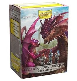 Dragon Shields Art Matte Father's Day Sleeves